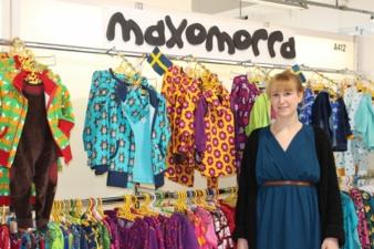 Sales-Assistant Alison Kleine (Jättefint) präsentierte die neue Kollektion von Maxomorra aus Schweden.