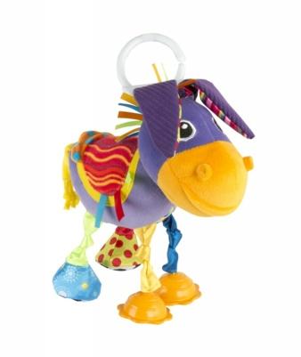 """Egon, der Esel, ist """"ganz besonders Ohr"""": Drückt das Baby seinen Körper, stellt er seine Ohren auf und lauscht."""