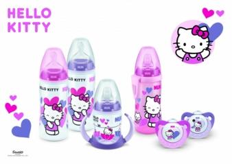 Das Gewinnspielpaket besteht aus zwei NUK Trendline-Schnullern, einer NUK First Choice-Babyflasche, einer NUK First Choice-Trinklernflasche und ein...