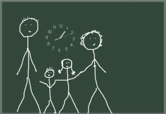 Auch Familien sollen von einer Änderung des Arbeitszeitgesetzes profitieren. (Wilhelmine Wulff / pixelio.de)