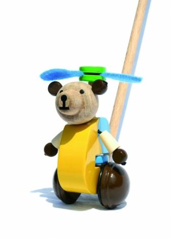 Der lustig klappernde Wirbelwind Hubert Hubschraubär bringt viel Leben ins Kinderzimmer.
