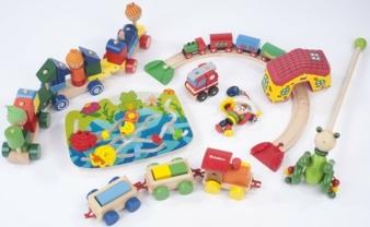 Eine Auswahl des getesteten Spielzeugs.