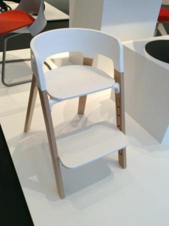 Der Stokke Steps überzeugte die 38-köpfige Jury durch sein minimalistisches Design und seine vielfältige Nutzbarkeit.