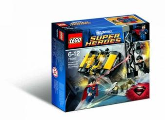 """Aus dem Film ins Kinderzimmer: Von Lego gibt es die Spielzeuglinie """"DC Universe Super Heroes""""."""