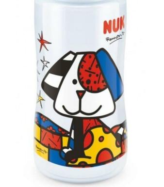 Zur Romero Britto-Kollektion gehören neben der Trinkflasche auch die Trendline Schnuller und der Kiddy Cup.