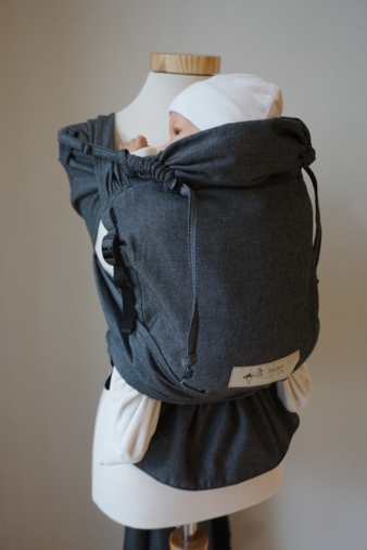 WrapBabyCarrier graphit