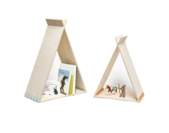 Julica Design tipi Bücherregal