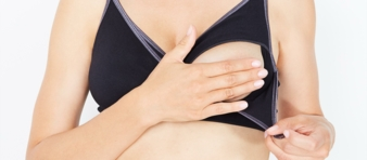Comfort Grey Glamour bra open