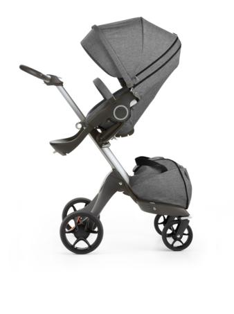 Stokke Xplory 160520-4266 Black Melange Seat new wheels 2016