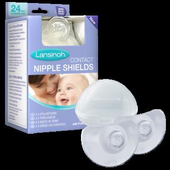 Nipple shield pack Shields Case