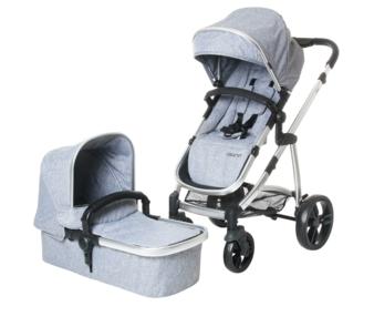 121-184-230 Osann Kinderwagen JOY - Grey Melange (1)