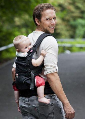 Auf geht's zur Erkundungstour – mit der Babytrage Ruckeli ganz komfortabel und sicher!