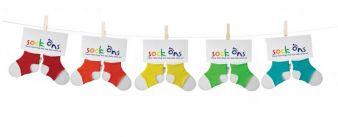 Das Aus für verlorene Söckchen: Sock Ons!