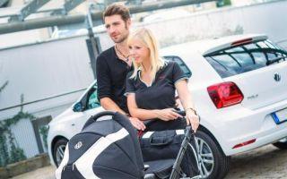 Ehrensache: Babys erster fahrbarer Untersatz muss natürlich ein Volkswagen sein!