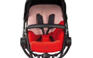 Die auffälligsten Trendsetter der Kind + Jugend sind natürlich die Kinderwagen - hier der Quinny Stroller Moodd von Dorel.