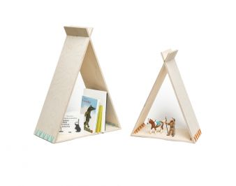Julica Design tipi Bücherregal