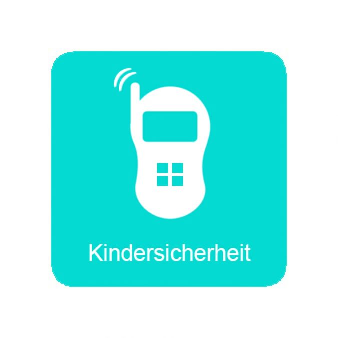 Icon-kindersicherheit