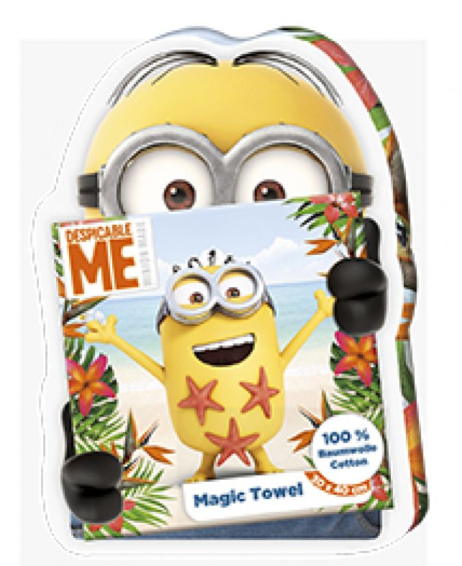 Minions Towel Packaging3
