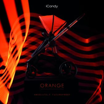 New iCandy Orange Pushchair