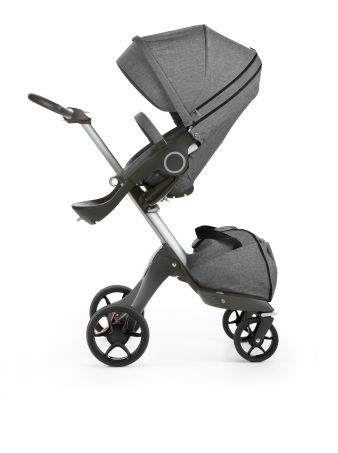 Stokke Xplory 160520-4266 Black Melange Seat new wheels 2016