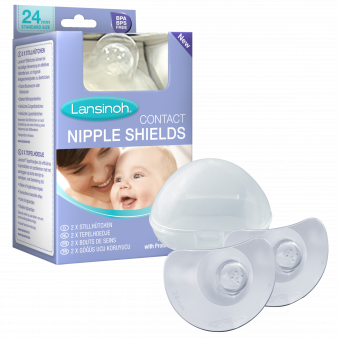 Nipple shield pack Shields Case