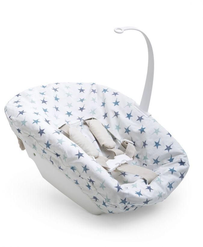 Tripp Trapp Newborn Textile Set 2421 Aqua Reversed
