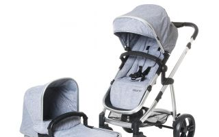 121-184-230 Osann Kinderwagen JOY - Grey Melange (1)