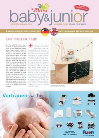 Messezeitung kind und jugend 2016