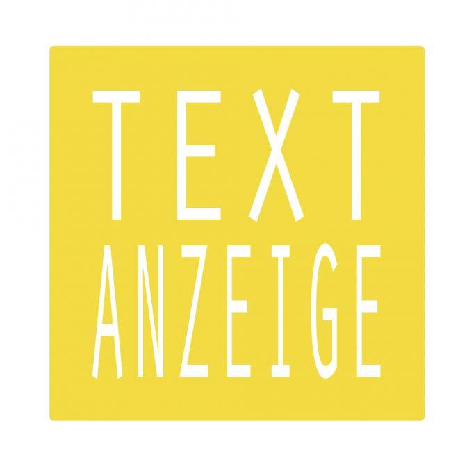 Textanzeige